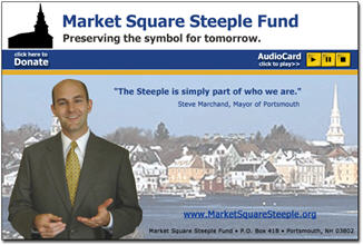 Mayor's Appeal for the Market Square Steeple Fund
